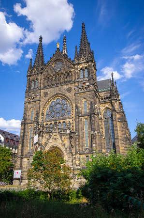 Most beautiful church of Leipzig - Germany