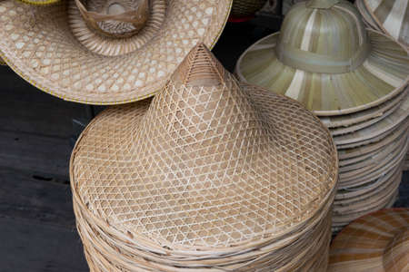conical hat: Asian conical hat Stock Photo
