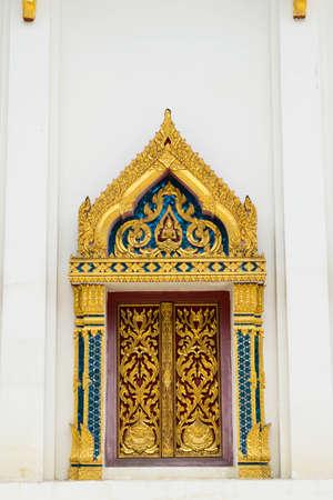 chaimongkol: Windows of Buddha Chaimongkol temple at Thailand