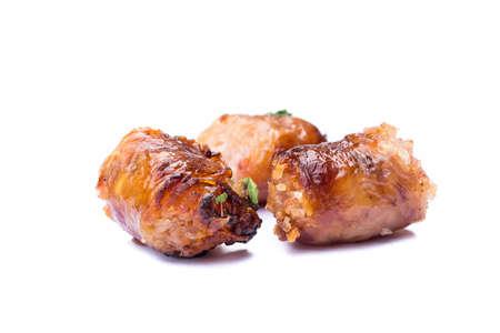 food stuff: Sausage Northeastern Style of thai food Stock Photo