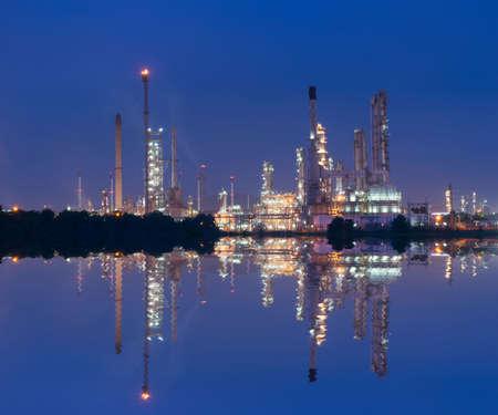 industria petroquimica: central eléctrica de la industria petroquímica en Tailandia