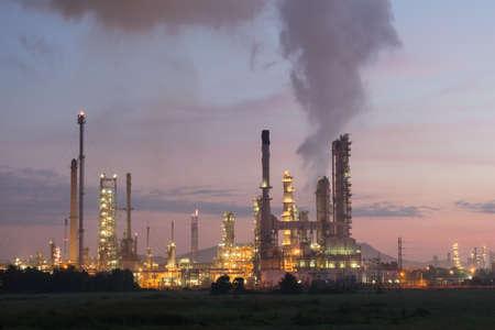 industria petroquimica: central el�ctrica de la industria petroqu�mica en Tailandia