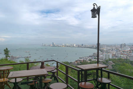 viewpoint: viewpoint at Pattaya city in Thailand