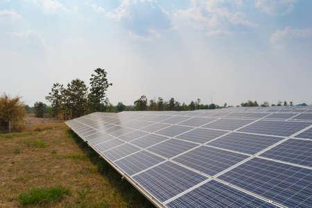 alternativ: Solar energy panels, Photovoltaic for generate green energy Stock Photo
