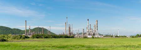 industria petroquimica: Panorama de la central eléctrica de la industria petroquímica en Tailandia