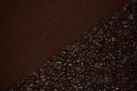 bracing: coffee, whole and ground. ,.
