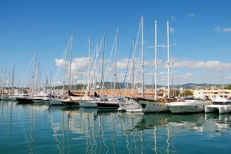 palma: port of palma de mallorca, spain