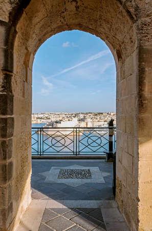 Upper Barrakka Garden in Valletta