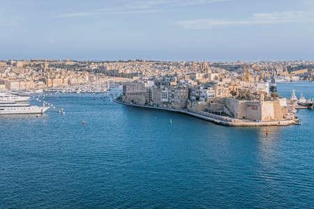 harbor at Valletta in malta