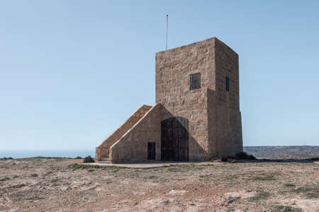 coastal watch tower in malta Reklamní fotografie