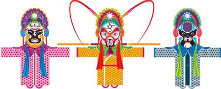 chinese opera: chinese opera 1 Illustration