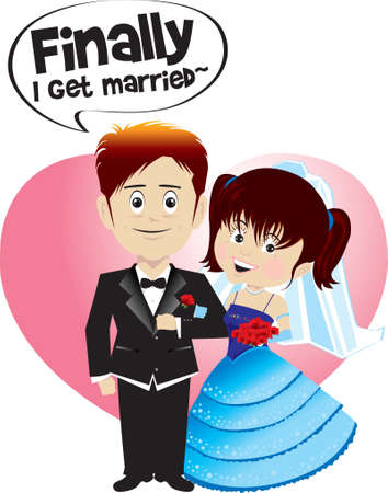 marry: finally i get married !!