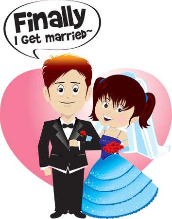 heiraten: Schließlich heiraten ich!!