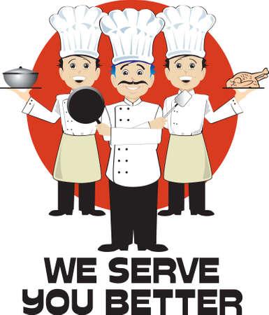 we serve you better Illustration
