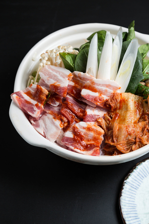 Spicy Chinese cabbage hotpot