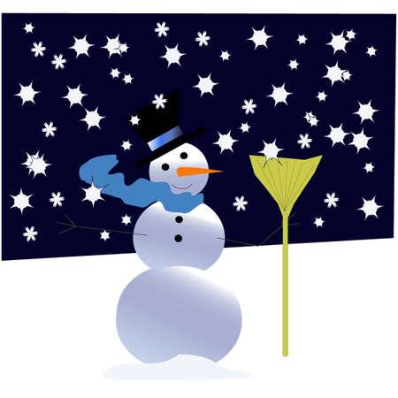 Snowman in Snowland