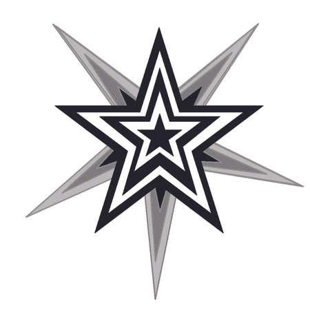 Stars within stars Stock Vector - 3757776