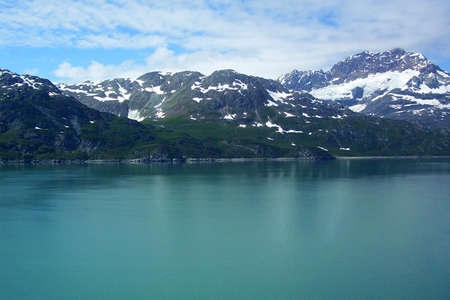 Alaska Scene along Inside Passage