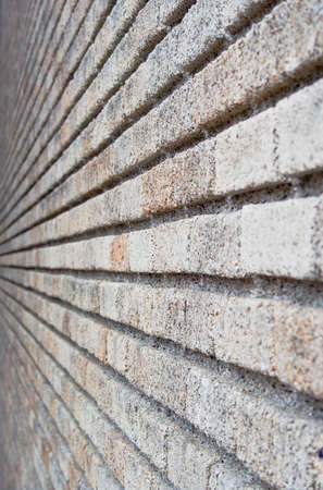 Background brick wall leading away from view Standard-Bild
