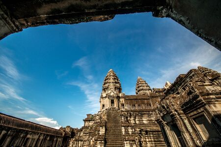 angor: Angor wat, the seven wonder and world herritage in Cambodia