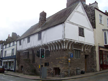oldest: Oldest house in Conwy.