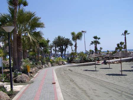 limassol: Limassol bay, Cyprus. Stock Photo