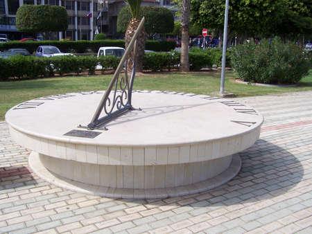 cadran solaire: Sundial. Banque d'images
