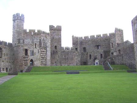 Caernarfon castle photo