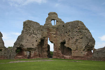 Ruddlan castle. Stock Photo - 3093993