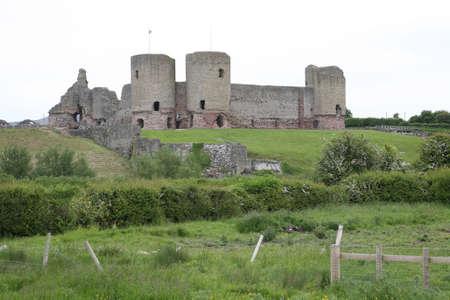 Ruddlan castle. Stock Photo - 3093997