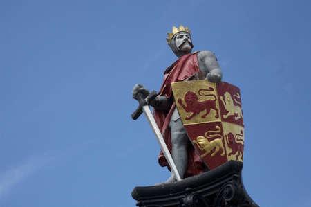 Llywelyn ap Gruffydd. Prince of Wales 1267 Stock Photo - 3426773
