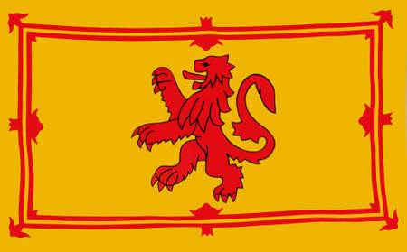 scottish flag: Royal bandiera della Scozia