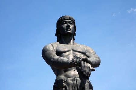 sentinel: Sentinel of freedom statue.  Stock Photo