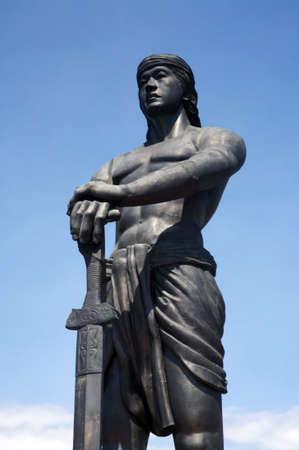 sentinel: Sentinel of freedom statue.