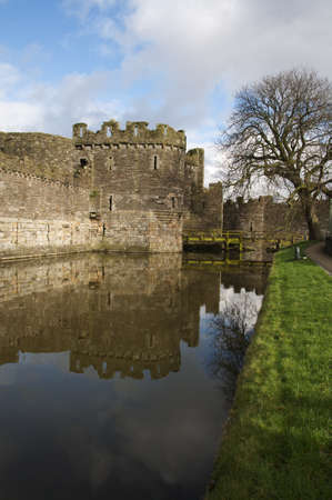 king edward: Beaumaris castle. Built by king Edward the first in the thirteenth century.