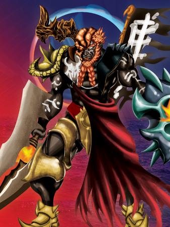 mutation: mutated warrior