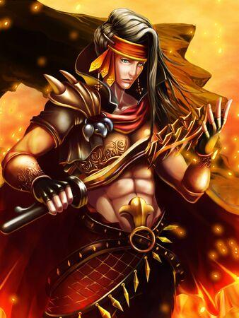 trooper: pirate hero Stock Photo