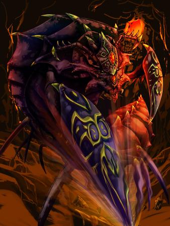crustacean: crustacean warrior king