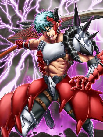 combatant: lightning gladiator