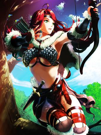 enchantress: dark archer enchantress