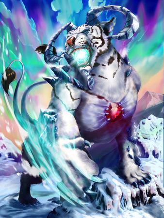古代の白虎