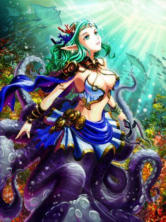 maiden: maiden octopus