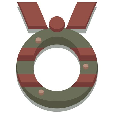 christmas icon: christmas seasonal wreath icon
