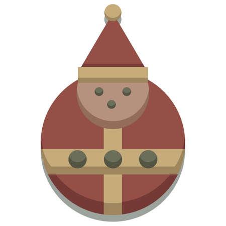 seasonal: christmas seasonal santa icon