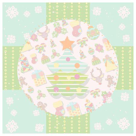 christmas cute design wall paper