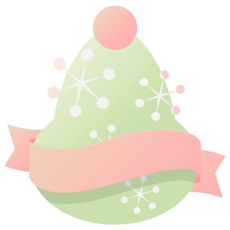 christmas icon: christmas bell with ribbon icon