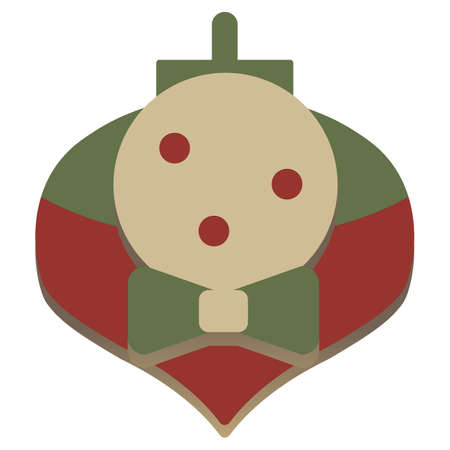snowglobe: christmas simple vector snowglobe icon Illustration