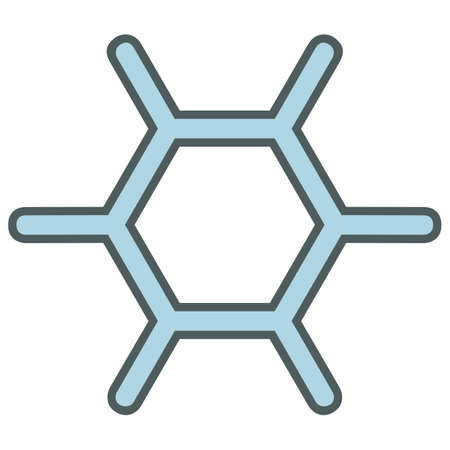 christmas icon: christmas simple vector snowflake icon