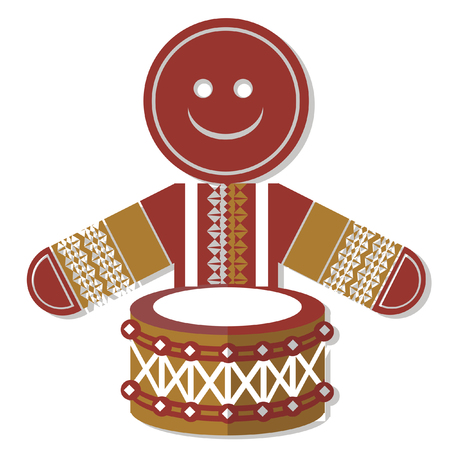 drummer: Christmas classic  drummer boy icon