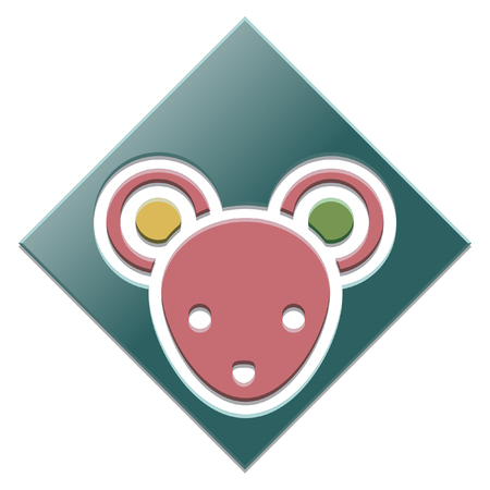 year of the rat: New Year Item in Diamond Base Icon